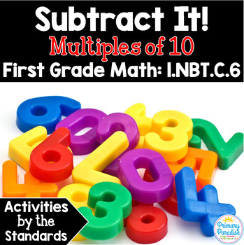 Subtract Multiples of 10: 1.NBT.C.6 Common Core First Grade Math