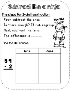 Subtract That! (2-Digit Subtraction with Regrouping)