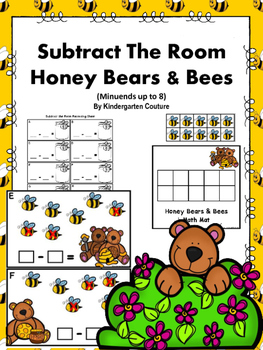 Subtract The Room Honey Bears & Bees