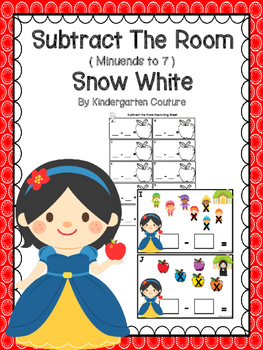 Snow White Subtract The Room  (Minuends To 7)