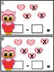 Subtract The Room Up to 7 -Valentine Owls
