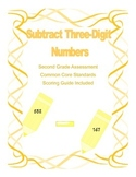 Subtract Three-Digit Numbers Assessment