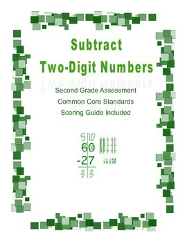 Subtract Two-Digit Numbers Assessment