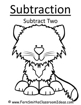 Subtraction Center Game A Quick and Easy to Prep Center Subtract Two
