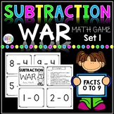 Subtract War Facts 0 to 9