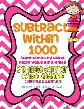 Subtract Within 1000 (2.NBT.B.5 & 2.NBT.B.7)