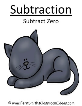 Subtraction Centers A Quick and Easy to Prep Center for Subtract Zero