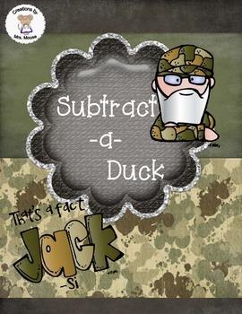 Math-Subtraction - Subtract-a-Duck