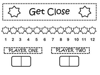Two Subtraction Math Games Using Cards and Dominoes