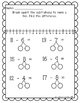 Subtract by Making Ten - Decomposing Numbers