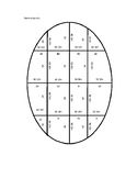 Subtract by Tens Easter Puzzle