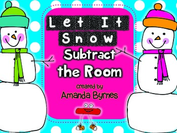 Subtract the Room (Let It Snow!) FREEBIE