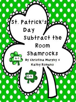 Subtract the Room Shamrocks