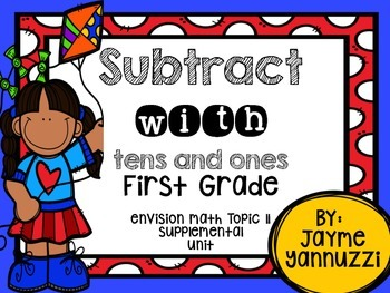 Subtract with Tens and Ones {enVision Topic 11 Supplementa