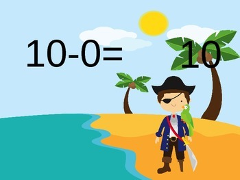 Subtract within 10 PowerPoint