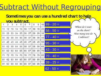 Subtract without Regrouping