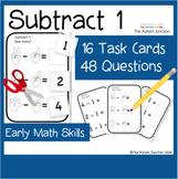 Autism Activities Subtracting 1