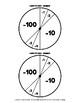 Subtracting 100 and 10 mentally - Swim to Zero