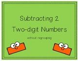 Subtracting 2 Digit Numbers