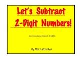 Subtracting 2-Digit Numbers~CCSS 1.NBT.6