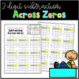 Subtracting 3 Digit Numbers Across Zeros