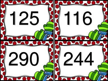 Subtracting 3 Digit Numbers--With and Without Regrouping--Mitten Theme
