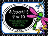 FREE Subtracting 9 or 10 from Teen Numbers Common Core Math