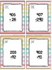Subtracting Across 0 Task Cards & Game (Summer) 2.NBT.5