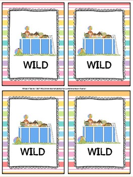 Summer Themed Subtracting Across 0 Task Cards & Game