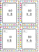 Subtracting Across 0's Task Cards & Game