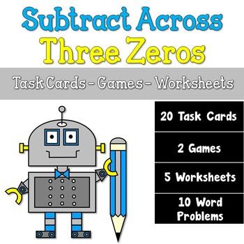 Subtracting Across Three Zeros