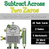 Subtracting Across Two Zeros