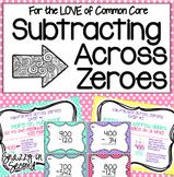 Subtracting Across Zeroes Pack {Common Core}