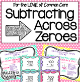 Subtracting Across Zeroes Pack {Common Core}