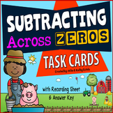 Subtracting Across Zeros Task Cards