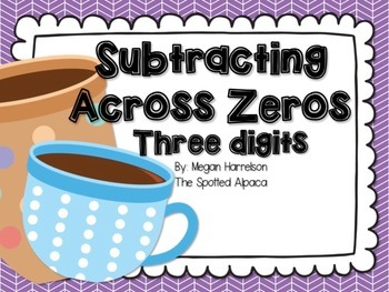 Subtracting Across Zeros