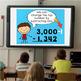 Subtracting Across Zeros Powerpoint & Practice