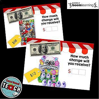 Subtracting Across Zeros Boom Cards™  Digital Task Cards