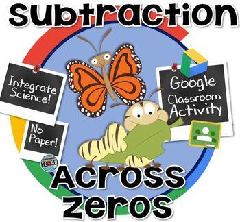Subtracting Across Zeros ~ GOOGLE CLASSROOM