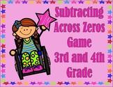 Subtracting Across Zeros Game
