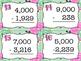 Subtracting Across Zeros Task Cards