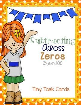 Subtracting Across Zeros from 100