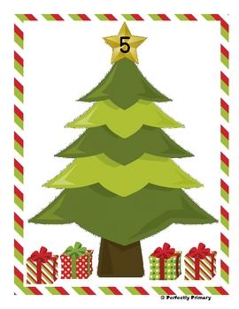 Subtracting Around the Christmas Tree