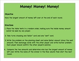 Subtracting Cents from Whole Dollars (Money! Money! Money)
