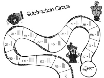 Subtracting Circus and Subtraction Safari Games