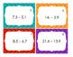 Subtracting Decimal Task Cards
