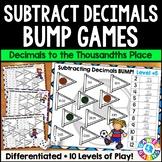 Subtracting Decimals Games: Subtract Decimals to Thousandths {5.NBT.7, 6.NS.3}