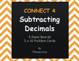 Subtracting Decimals - Connect 4 Game