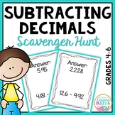 Subtracting Decimals Game