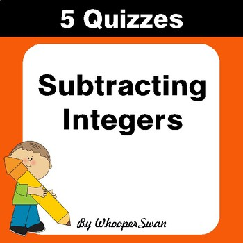 Subtracting Decimals Quiz - Test - Assessment - Worksheets